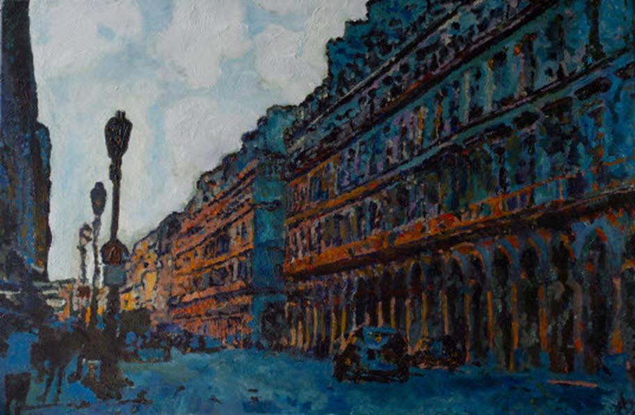 Les Grands Boulevards, Aleksander Lefbard