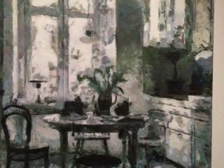 Twilight. Music. Aleksander Lefbard, Modern painter