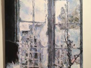 Morning in shades of blue. Aleksander Lefbard. Modern estonian artist