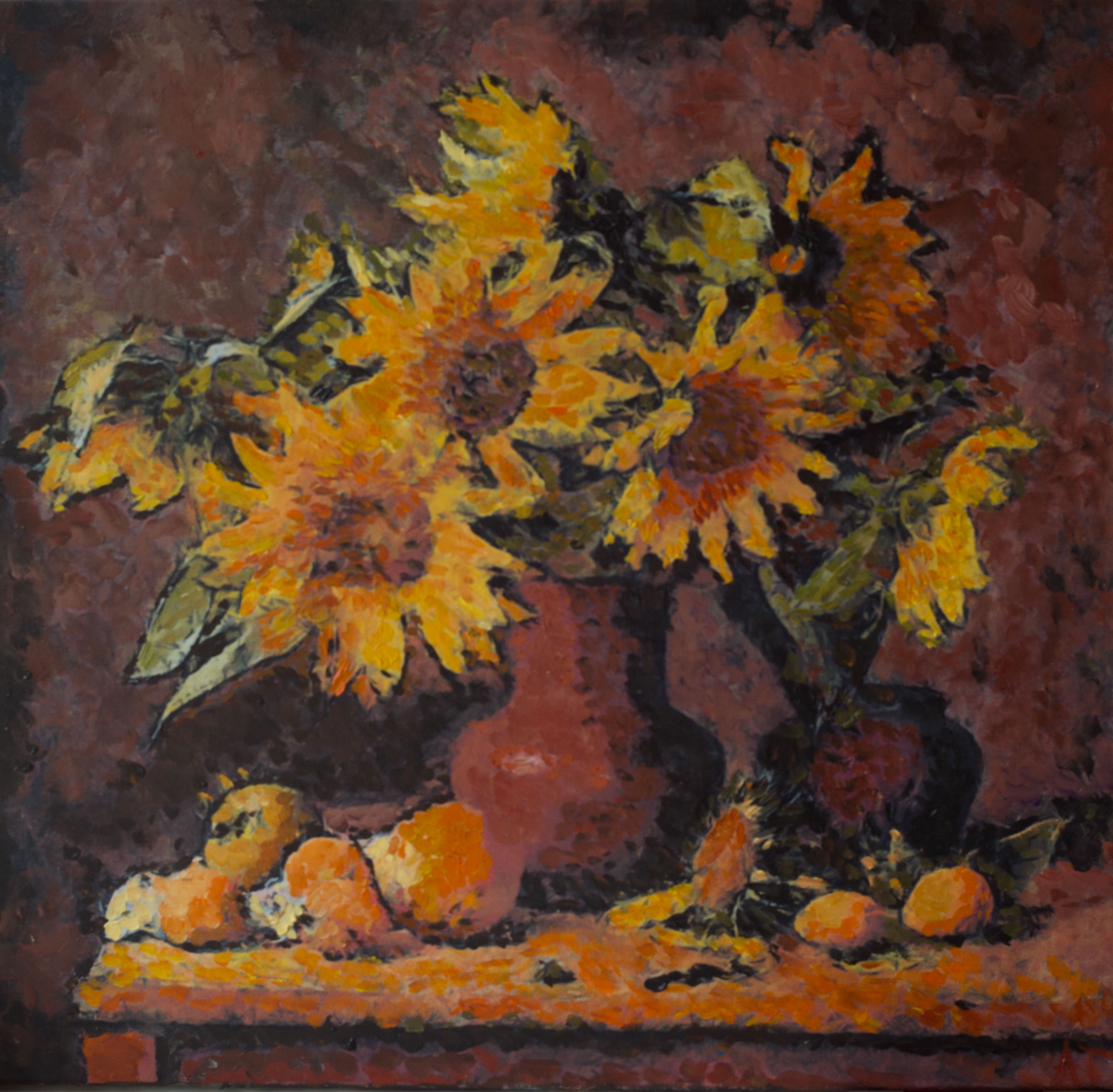 Sunflowers, A. Lefbard, 2013