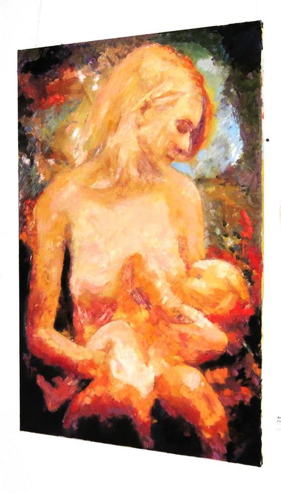 Modern Madonna, A.Lefbard, 2014. Private collection
