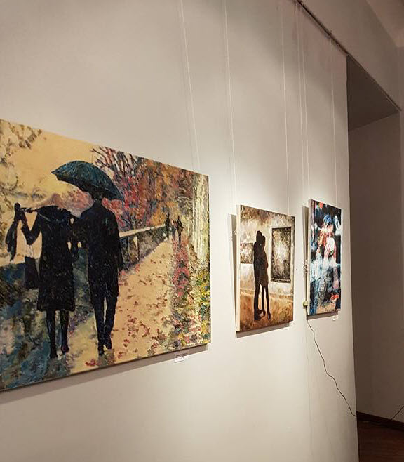 Aleksander Lefbard, Exhibition, modern art